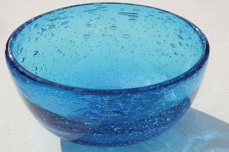 [即納]琉球ガラス洗面ボウル おしゃれ おしゃれ [水色][シンプル[洗面鉢][洗面ボール][3日以内発送可] NO-6[送料1620円]大きなサイズ/径35CM, キホウチョウ:44219a0f --- sunward.msk.ru