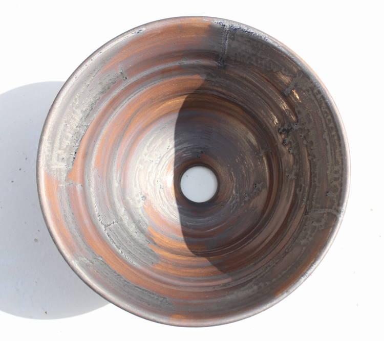 [洗面ボウル][洗面ボール][洗面鉢][手洗いボウル][手洗いボール][手洗い鉢]沖縄陶器やちむん鉢/陶器/和風/シンプル/モダン/送料無料/NO-11