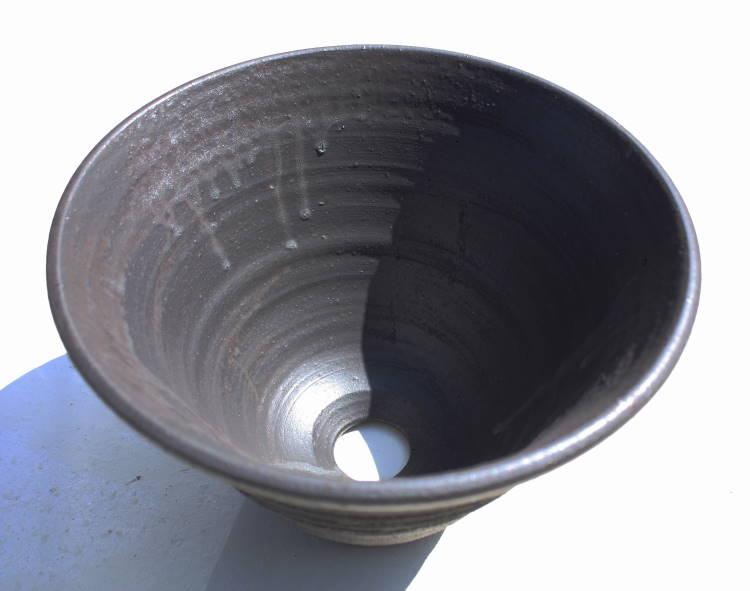 [洗面ボウル][洗面ボール][洗面鉢][手洗いボウル][手洗いボール][手洗い鉢]沖縄陶器やちむん鉢/陶器/和風/シンプル/モダン/送料無料/NO-87