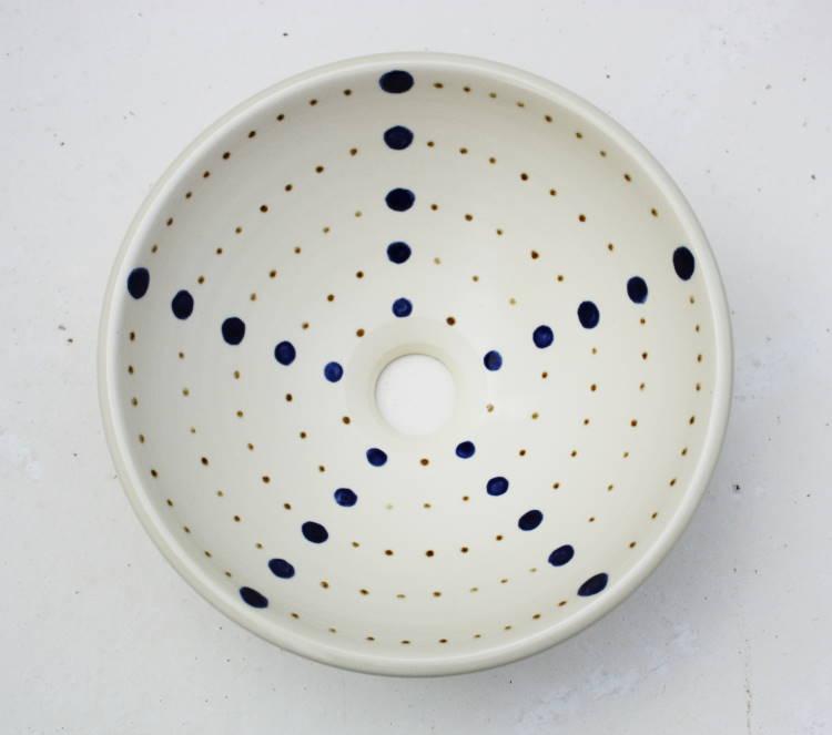 手洗い鉢/手洗いボール/手洗いボウル/ドットNO-57/手洗い器/洗面鉢/洗面ボール/洗面ボウル/洗面器/リフォーム/送料無料