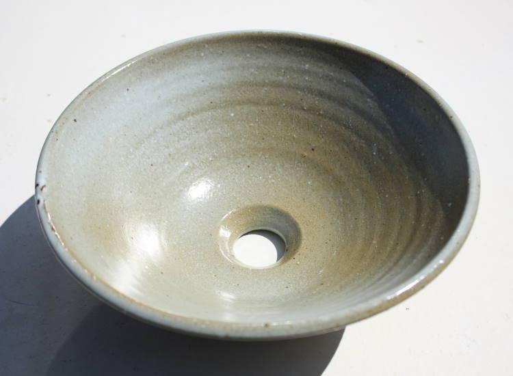 [洗面ボウル][洗面ボール][洗面鉢][手洗いボウル][手洗いボール][手洗い鉢]沖縄陶器やちむん鉢/陶器/和風/シンプル/モダン/送料無料/NO-36