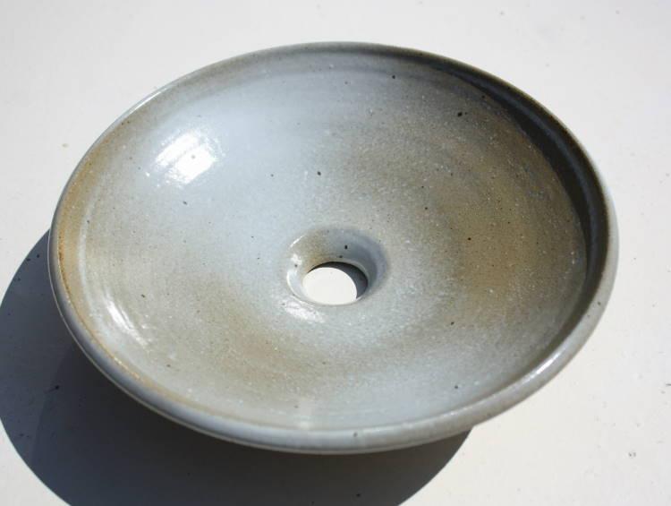 [洗面ボウル][洗面ボール][洗面鉢][手洗いボウル][手洗いボール][手洗い鉢]沖縄陶器やちむん鉢/陶器/和風/シンプル/モダン/送料無料/NO-96