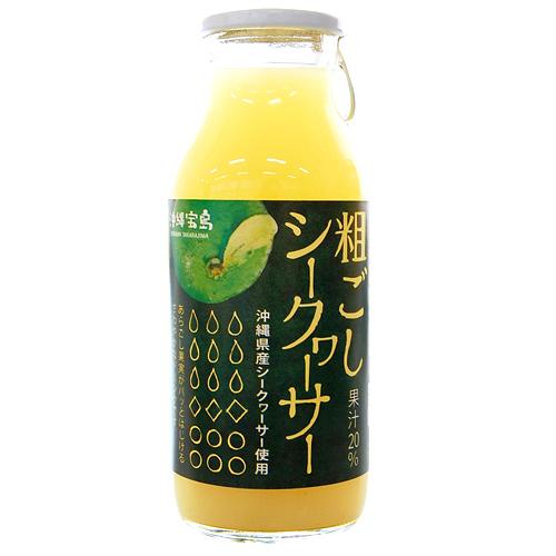 粗ごしシークヮーサー180ml 沖縄県産 マーケティング 青切り 4582112265653 定番の人気シリーズPOINT(ポイント)入荷