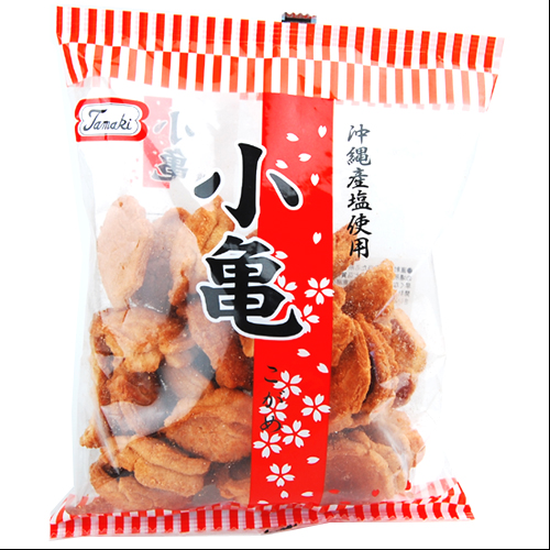 Popular Tamaki confectionery turtle crackers 82 g with at Okinawa souvenir