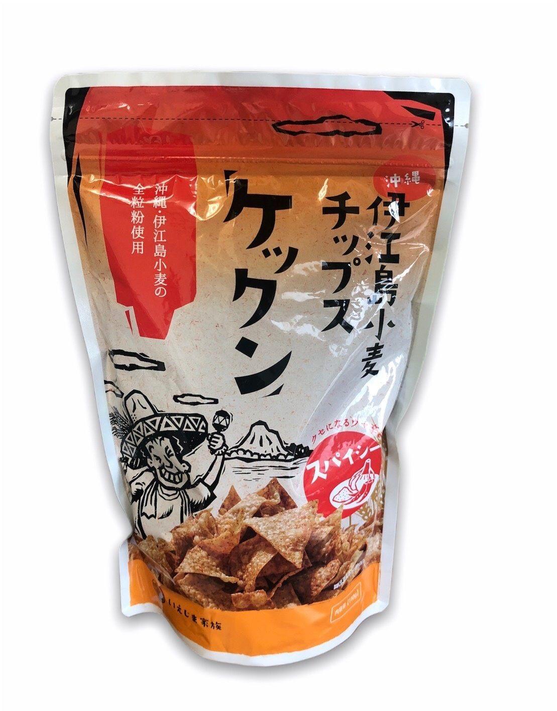引出物 伊江島小麦チップス ケックンスパイシー4562438860121 国内在庫