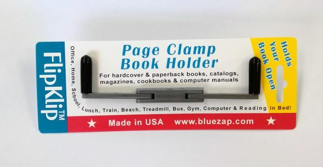 お中元 開いたページをX型にしっかりホールド しっかり本を押さえてくれて 楽に本が読めるブックストッパーアメリカ製 読書のための便利なブックホルダー FlipKlip 入荷待ち フリップクリップ アッシュグレイ 6月末には発送できる予定です 休み