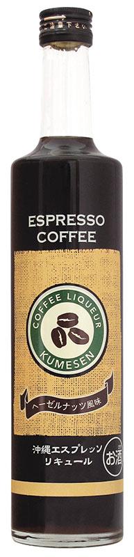 泡盛咖啡咖啡利口酒 12 500 毫升久米森酿酒厂 / / 冲绳烧酒 / 冲绳、 利口酒和琉球泡盛