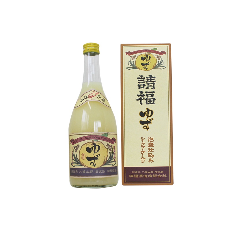 Awamori redemption Fuzhou yuzu liquor awamori brewing shikuwasa entered (with box) 10 times 720 ml redemption Fu sake Brewery Co., Ltd. Okinawa shochu Okinawa liquor Ryukyuan awamori / plum / liqueur /.