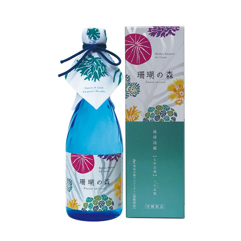 Forest seven years old liquor seven years 35 degrees 720ml/ Mizuho brewing / Okinawa ware / Okinawa liquor / Ryukyu Awamori / of the Awamori coral