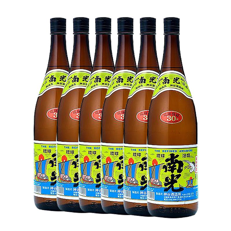 (送料無料)泡盛 南光 一升瓶 30度 1800ml×6本(1ケース) 神谷酒造所