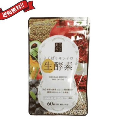 よくばりキレイの生酵素 60粒 3袋セット