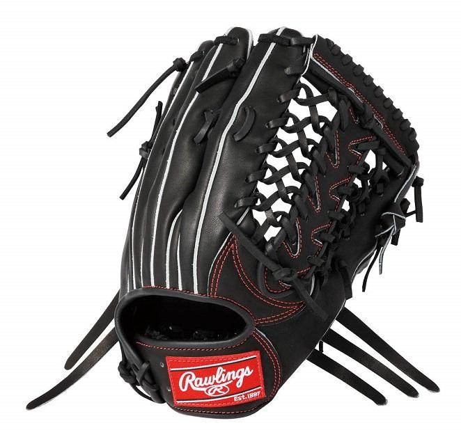 ローリングス 硬式グローブ 外野手用 ブラック 野球 硬式グラブ 右投げ用 HOH 2019年モデル GH9HRY70