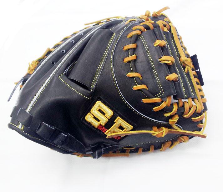 シュアプレイ 硬式キャッチャーミット 捕手用 限定 2019年モデル 野球 キャッチャーミット 硬式 ブラックXタン 右投げ用 SBM-BP280