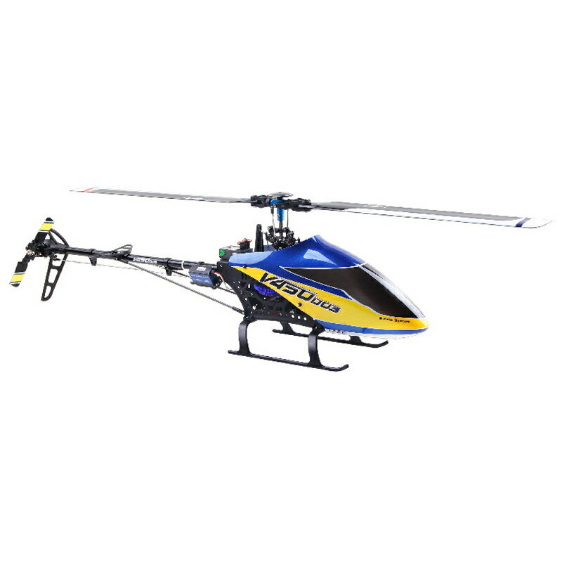 ワルケラ 安定性抜群 緩い操作を確実に答えてくれる V450D03 本体 BNF 6軸ジャイロ 自動フライト補正システム (V450D03-01) WALKERA BNF 室外 大型 3Dフライト ラジコン ヘリコプター