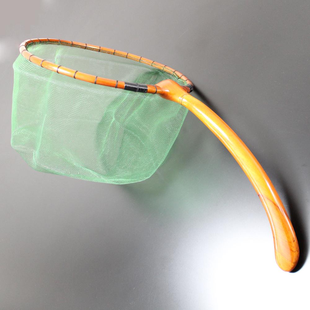 特作 渓流タモ 尺 (30cm) 2mm目 グリーン (170400-green)