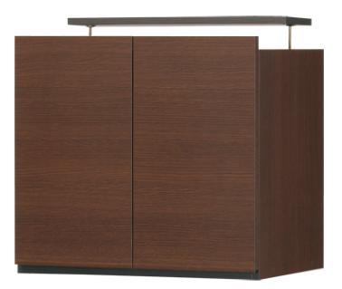 壁面キャビネット(上置き) 壁面収納  壁面ラック 棚 ポルターレ PRO-5560DUdk