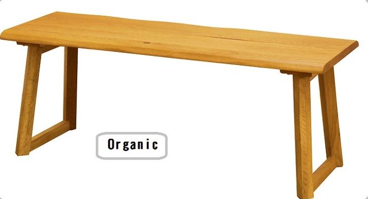 ベンチ ダイニングベンチ 背無しベンチ 110cm  ダイニングチェア カントリー調 オーク無垢 食卓いす 食卓イス 食卓椅子 肘なし 木製(送料無料:北海道・東北・沖縄・離島に関しては、別途送料となります。)