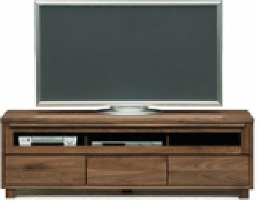 テレビボード 幅200cm 人気のウォールナット おしゃれなデザインのリビング収納 開梱設置付き 国産