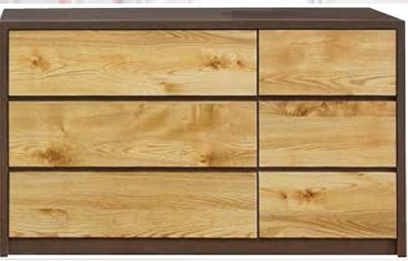 ローチェスト チェスト 幅120cm チェスト 収納チェスト 木製チェスト 3段 タンス たんす ワイド/ナチュラル