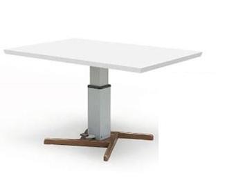 オススメ ダイニングテーブル 120幅 昇降式テーブル単品 リフティングテーブル 食卓テーブル リビングテーブル ウォールナット ホワイト2色リビングテーブル便利 北欧 モダン