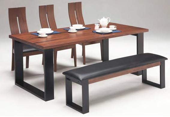 ダイニングテーブルセット ダイニングセット パンドラ 6人用 ベンチタイプ5点セット 回転式 おしゃれ 木製 180テーブル・145ベンチ・チェア3脚