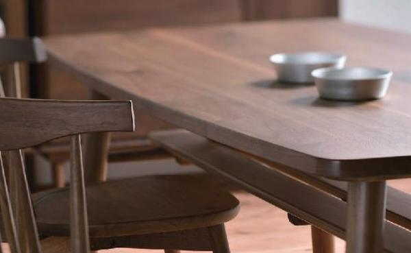 MIKIMOKU Chocolat ショコラ 2年保証 テーブル天板 WNT-1810 WNA 1枚 W180×D90×T2.7cm ブラックウォールナット無垢 天然木 北欧 カントリーテーブル 天板 ミキモク