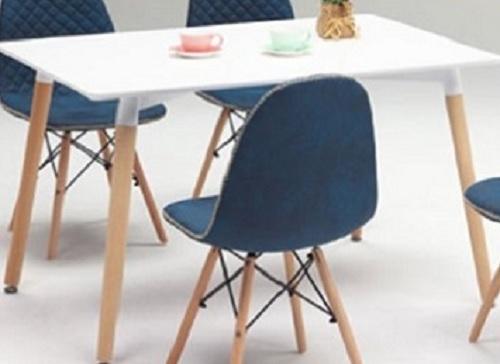 ダイニングテーブル ダイニング リビングテーブル 机 ホワイト 北欧 シンプル モダン おしゃれ デザイナーカフェ風 レストラン 事務所 120cm(チェア別売り)