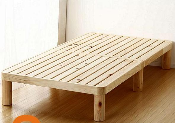 スノコベッド /F☆☆☆☆ 広島県産 フレームのみ 寝具 おしゃれ シングルサイズ 幅100×長さ200×高さ30cm ひのきベッド シングルベッド 角丸