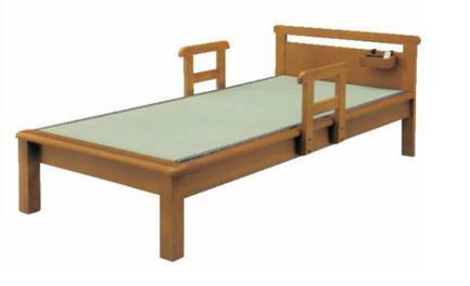 畳ベッド シングル たたみベッド 畳 ベッド 木製 たたみベッド シングルベッド 手すり付 シングルベッド タタミベッド たたみベッド 木製