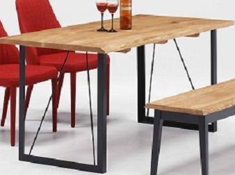 テーブル ダイニングテーブル ダイニングリビングテーブル 机  オーク無垢材 北欧 シンプル モダン おしゃれ デザイナーカフェ風 レストラン 事務所 木目 テーブルのみイスは別売り