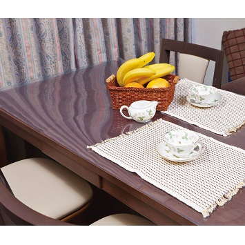 テーブル テーブルマット ビニールマット 900×1200以内 ランキングTOP10 今だけ限定15%OFFクーポン発行中 3mm厚透明テーブルマット 別注タイプ