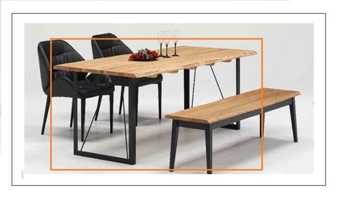 テーブル ダイニングテーブル ダイニングリビングテーブル 机 オーク無垢材 北欧 シンプル モダン おしゃれ デザイナーカフェ風 レストラン 事務所 木目テーブルのみイスは別売り