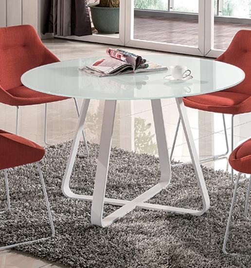 ダイニングテーブル テーブル おしゃれ モダン ダイニングガラステーブル 円形 天板 100cm 丸テーブル シンプル ホウイト ダイニングテーブル 丸テーブル ガラス 幅100 机 強化ガラス 北欧 シンプル モダン おしゃれ デザイナー カフェ風(テーブルのみ)