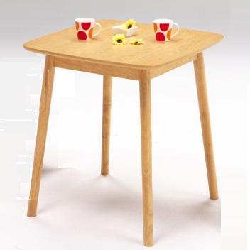 ダイニングテーブル 幅80cm 木製 食卓テーブル 正方形 ナチュラル 人気 2人掛け おしゃれ オーク 未使用 2人用 卓出