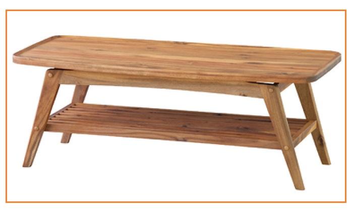 リビングテーブル テーブル 110cm センターテーブル 木製シンプル 北欧 細型 ホワイト ウオールナット