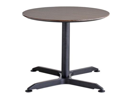 昇降テーブル 丸テーブル リフティングテーブル ウォールナット 80丸テーブル 円形