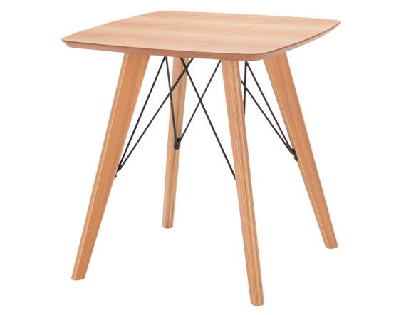 テーブル アンテ カフェテーブル  65cm アッシュ材 北欧 モダン ナチュラル シンプル おしゃれ(テーブルのみ)4月下旬入荷