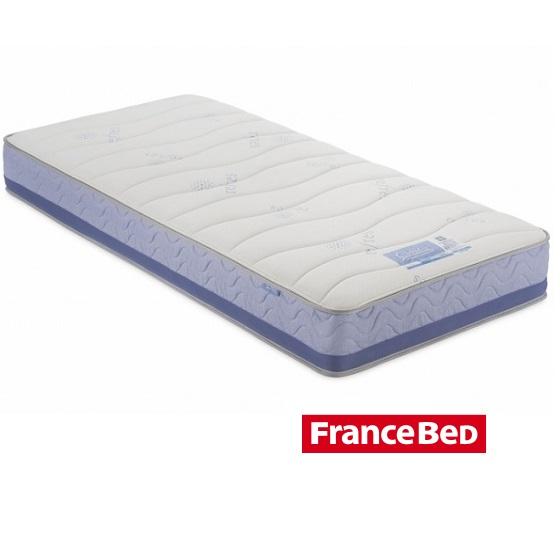 ベッドマットレス シングル シングルマット フランスベッド クラウディア 防ダニ 抗菌抗臭 日本製(97×195cm)