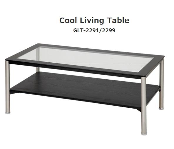 リビングテーブル センターテーブル シンプル テーブル コーヒーテーブル 北欧 おしゃれ 強化ガラス6mm スチール 100cm