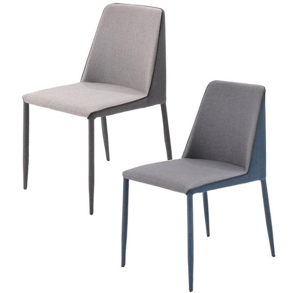 ダイニングチェア 2脚セット チェア 椅子 ダイニング リビングチェア ダイニングチェアー 布 チェア 椅子 いす イス 北欧 モダン おしゃれ シンプル ブル