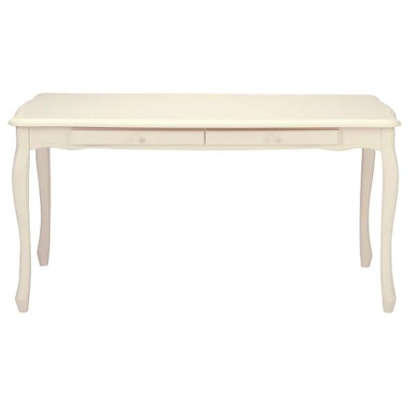 ダイニングテーブル ホワイト 引出付き  北欧 シンプル モダン おしゃれ デザイナーカフェ風 レストラン 事務所 150cm