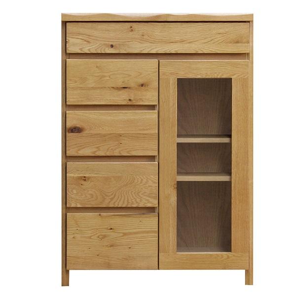 キャビネット 木製 北欧 カップボード キッチン 棚 収納 リビング シンプル おしゃれ 食器棚 片開きキャビネット60 引出し リビング収納 TEL台 FAX台
