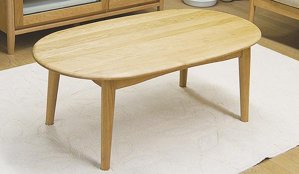100×55 リビングテーブル 楕円テーブル テーブル ナラムク 新作からSALEアイテム等お得な商品 満載 北欧 北欧風 ナチュラル ナラ無垢 楕円 ローテーブル 木製楕円テーブル100 セールSALE%OFF