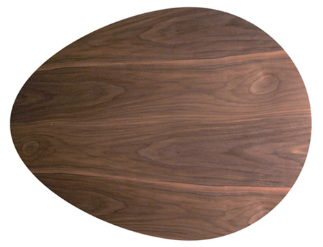 家具調こたつ こたつ 110 こたつテーブル リビングテーブル デザインコタツ  たまご(110) 炬燵 暖卓 こたつ本体 Denby 日本製ウォールナット