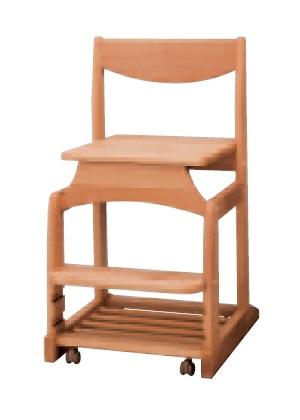 学習チェア,学習椅子 学習いす 学習イス   チェアーデスクチェアー キッズチェアー 板座 4段階調節,無垢 キャスター付き。  2017年版