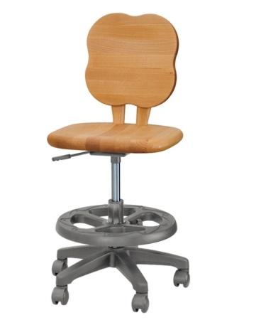 学習チェア,学習椅子 学習いす 学習イス 勉強イス ガス圧チェアー  チェアーデスクチェアー キッズチェアー 板座 ,無垢 キャスター付き。  2017年版