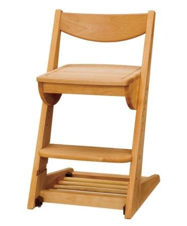 学習チェア,学習椅子 学習いす 学習イス   チェアーデスクチェアー キッズチェアー 板座 5段階調節,無垢 キャスター付き。  2017年版