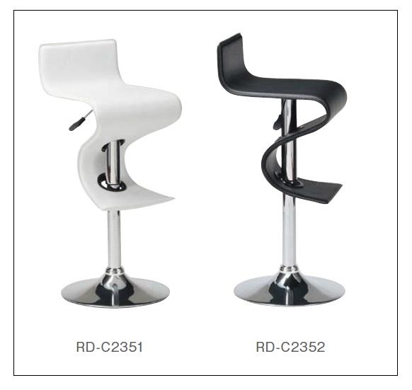 カウンターチェア バーチェアー カウンターチェアー ハイチェアー 昇降式 回転 RD-C2351,RD-C2352