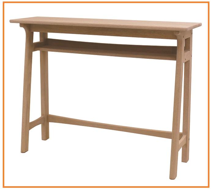 カウンターテーブル 120cm キッチンテーブルハイカウンターハイテーブル デスク バーカウンター バーカウンターテーブル オーク材 木製 北欧 カントリー ヴィンテイジ