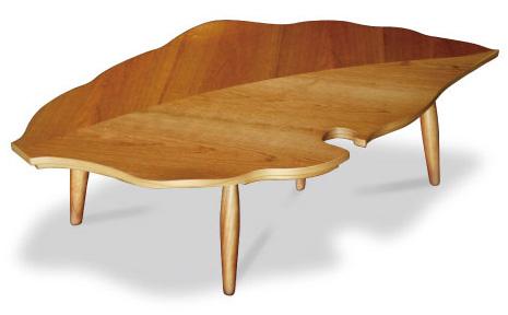 こたつ 葉っぱ 家具調こたつ 落ち葉 130 こたつテーブル デザインコタツ 3D 変形 日本製  炬燵 こたつ コタツ おちば ブラックチェリー